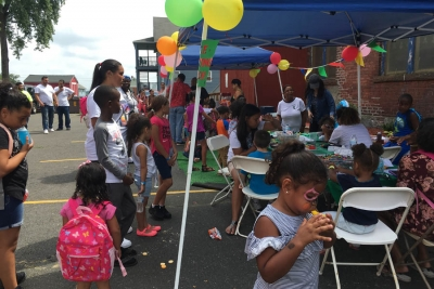 AIR Donates for Back to School Event in Hartford